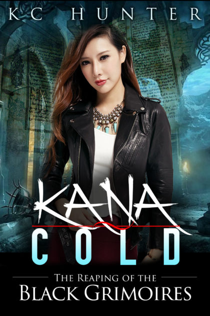Early book cover art for Kana Cold